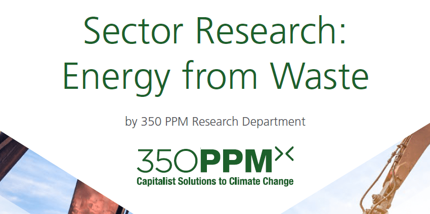 Sector Research – Energy from Waste