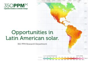 Sector Research: Opportunities in Latin American Solar.
