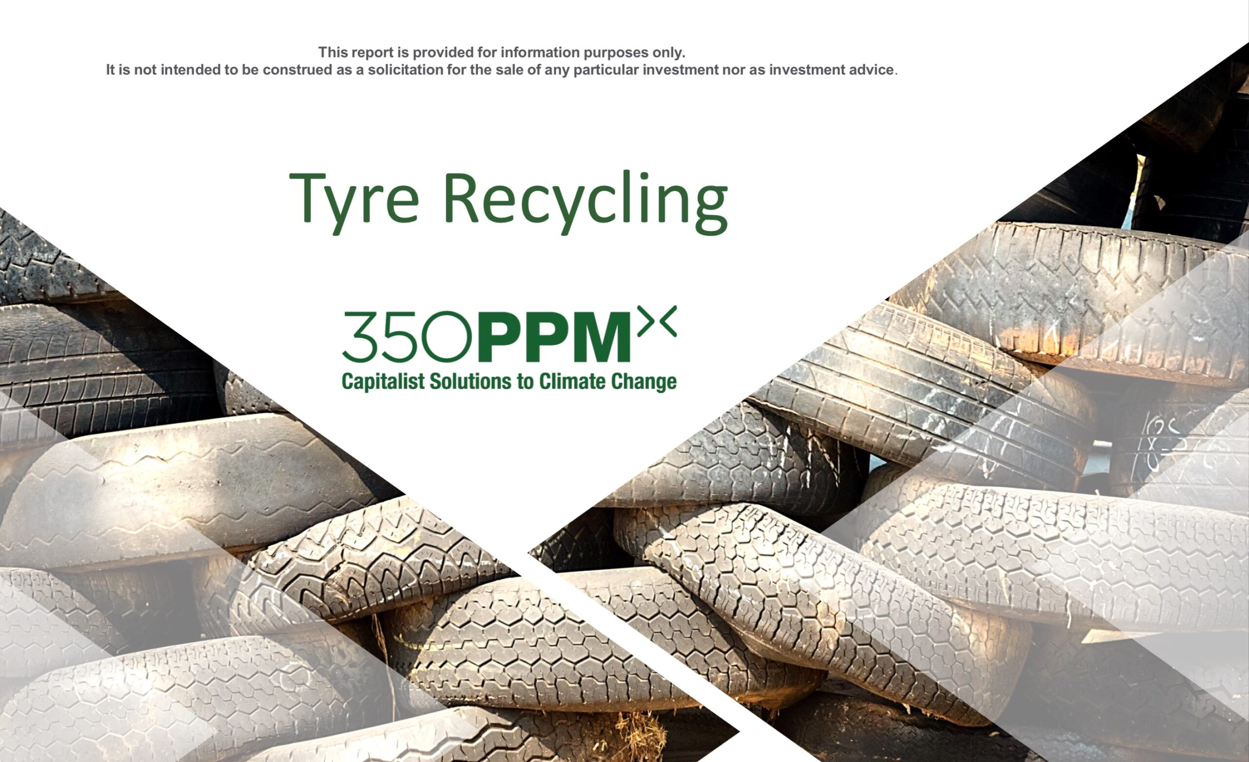 Sector Research: Tyre Recycling