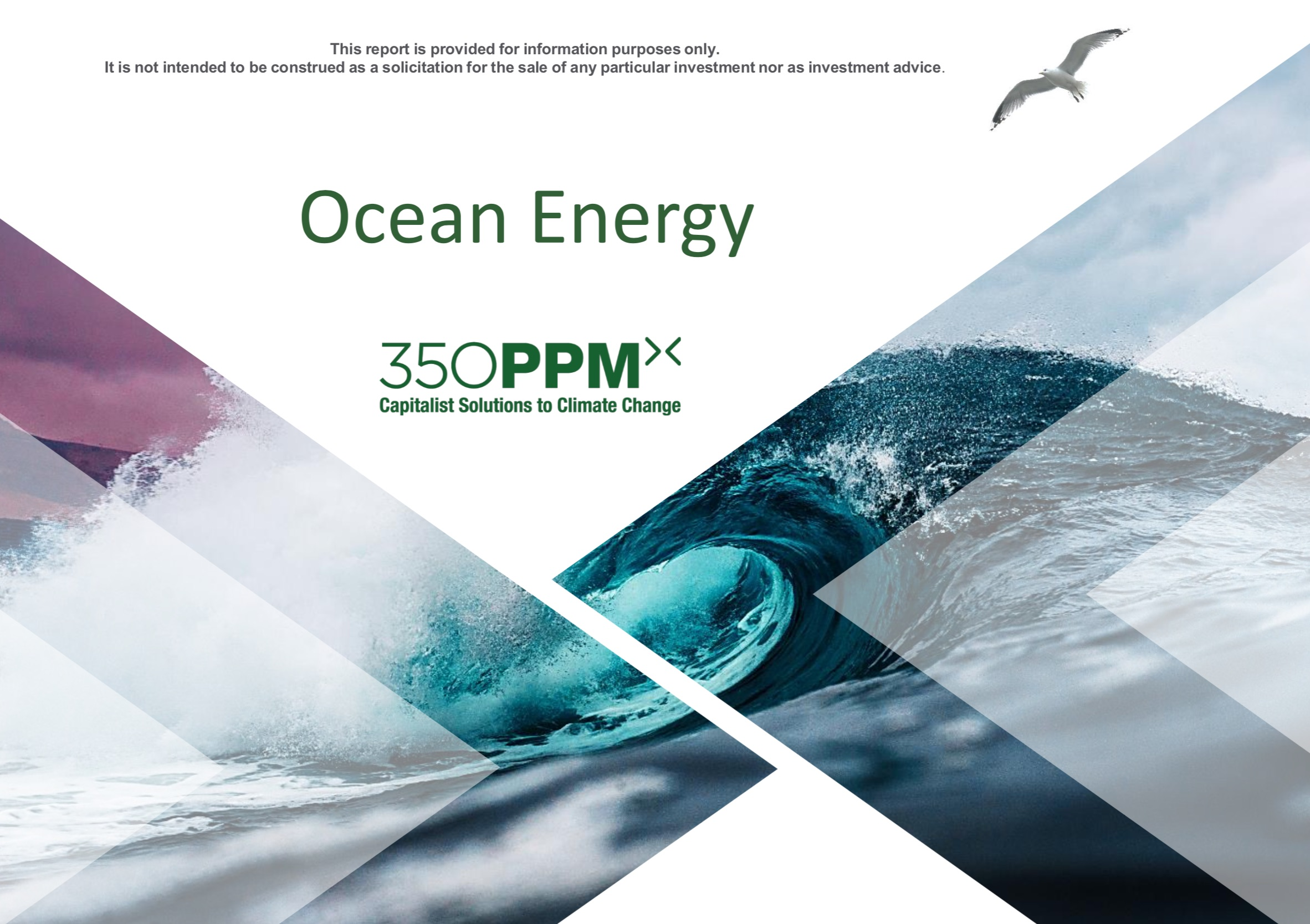 Sector Research: Ocean Energy